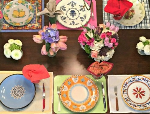My Magical Mismatched Tablescape
